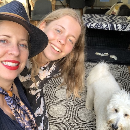 Tech Shabbat With Tiffany Shlain And Her Daughter