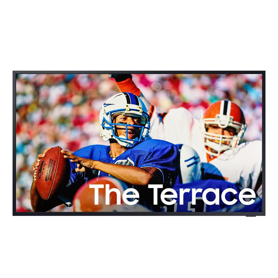 """SAMSUNG THE TERRACE 75"""" 4K OUTDOOR SMART TV WITH DIRECT SUN PROTECTION (QN75LST9TAFXZC)"""