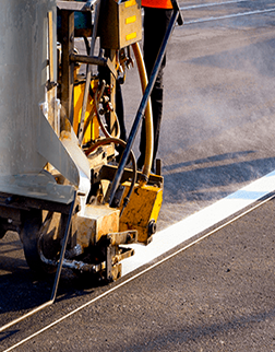 Critical factors when applying thermoplastic paint