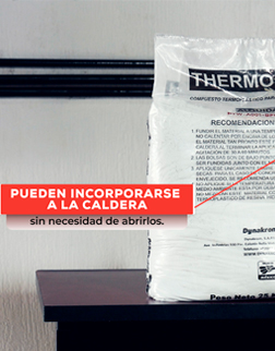 Temperatura ideal de fusión para la aplicación de pintura termoplástica