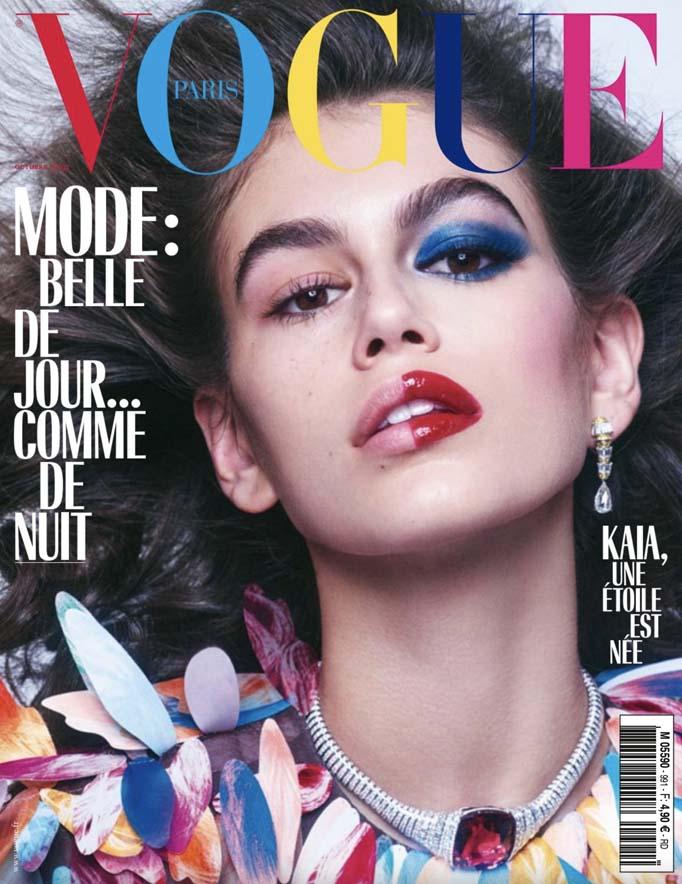 Featured in VOGUE Paris Issue 991 - September 2018