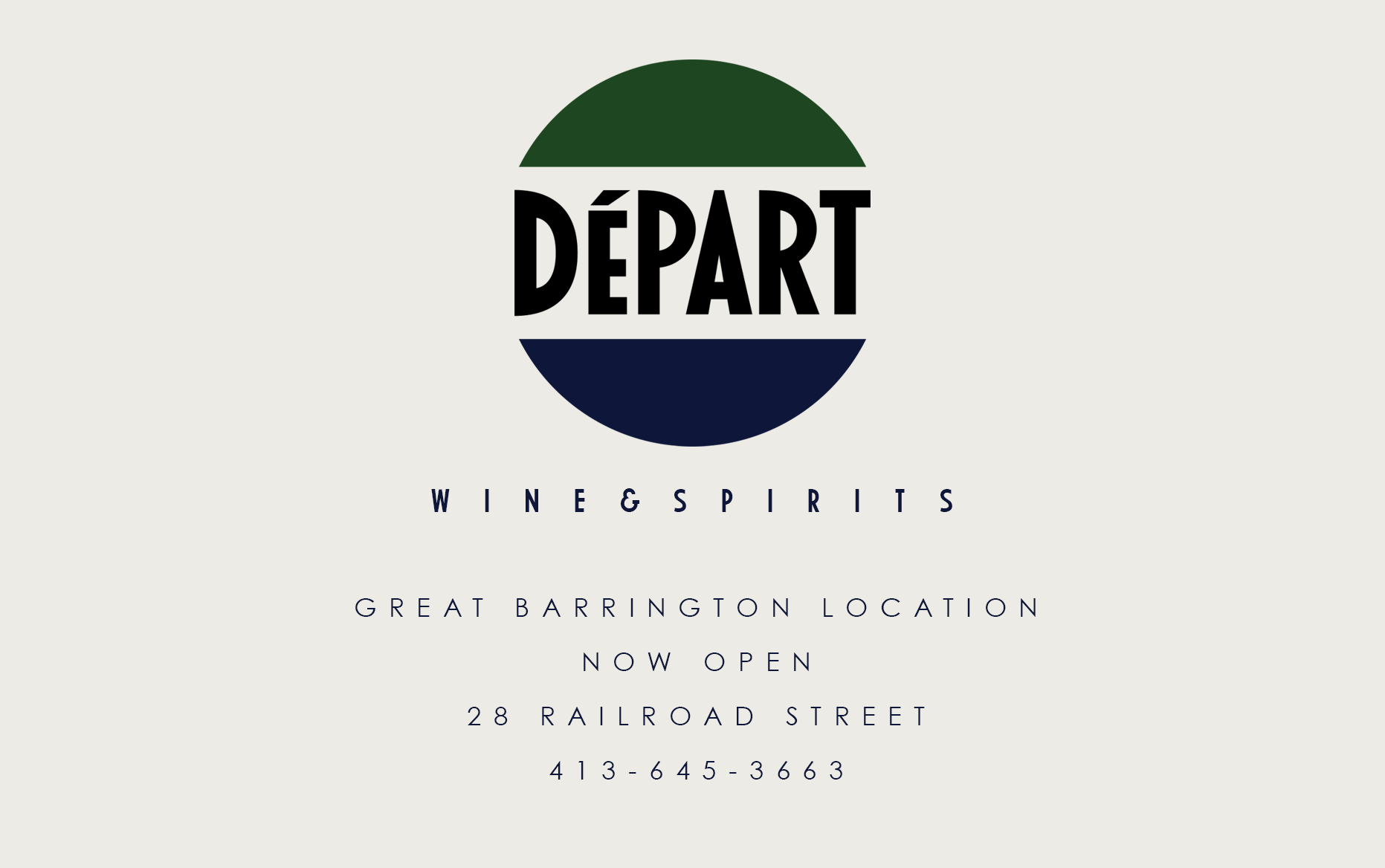 dayparr wine. Great Barrington location now open. 28 Railroad Street. Call us at 413 645 3636