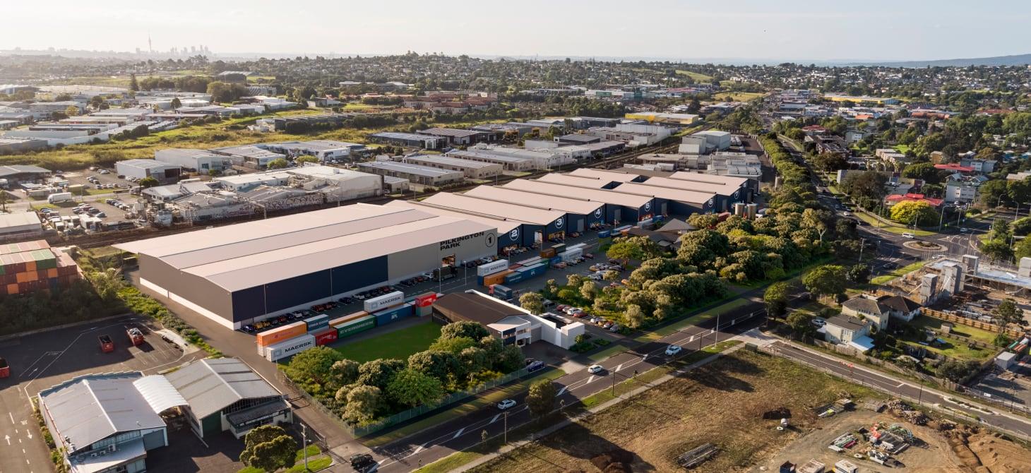 Pilkington Park Aerial Shot - Auckland New Zealand
