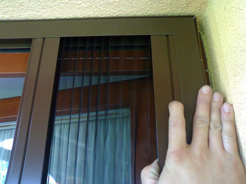 Plissovaná dveřní síť 3