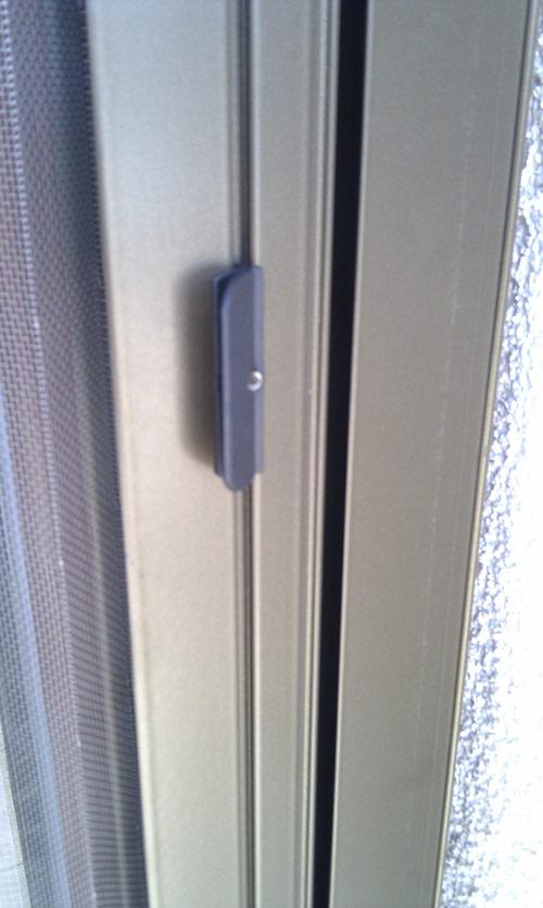 Plissovaná dveřní síť 10