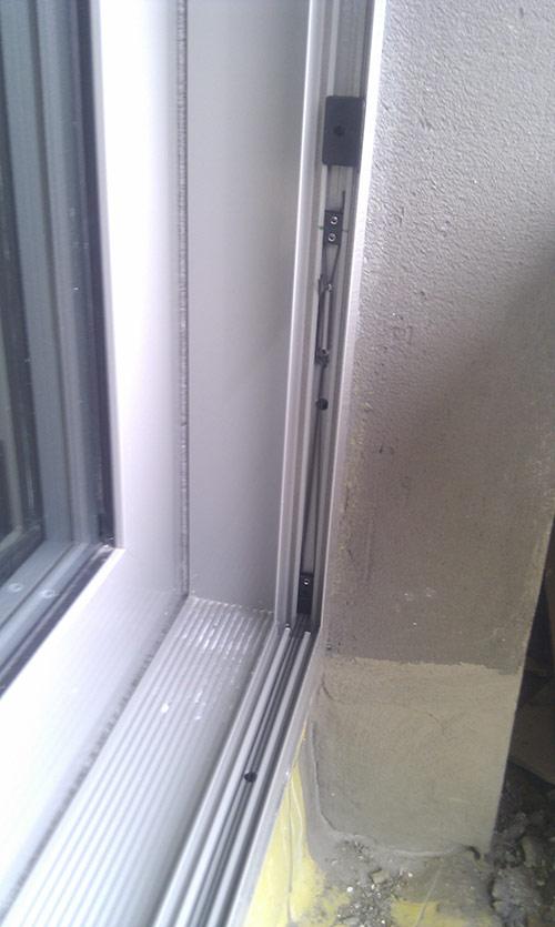 Plissovaná dveřní síť 15