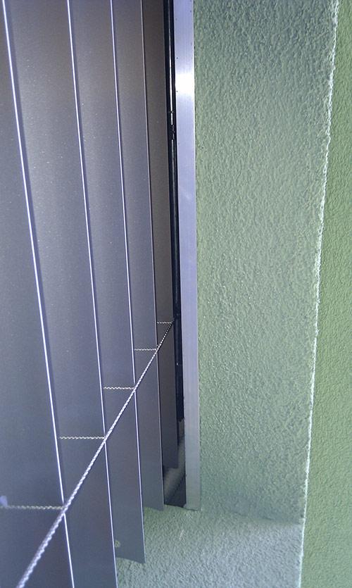 Dodatečná montáž žaluzie do zateplení fasády 2