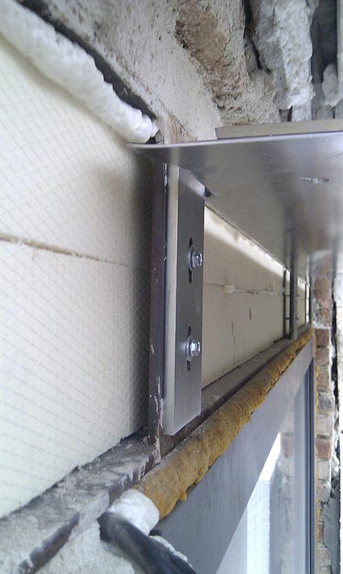Fasádní schránka vankovní žaluzie