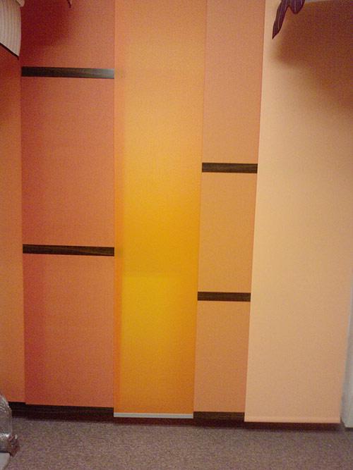 Posuvné (japonské) stěny 1