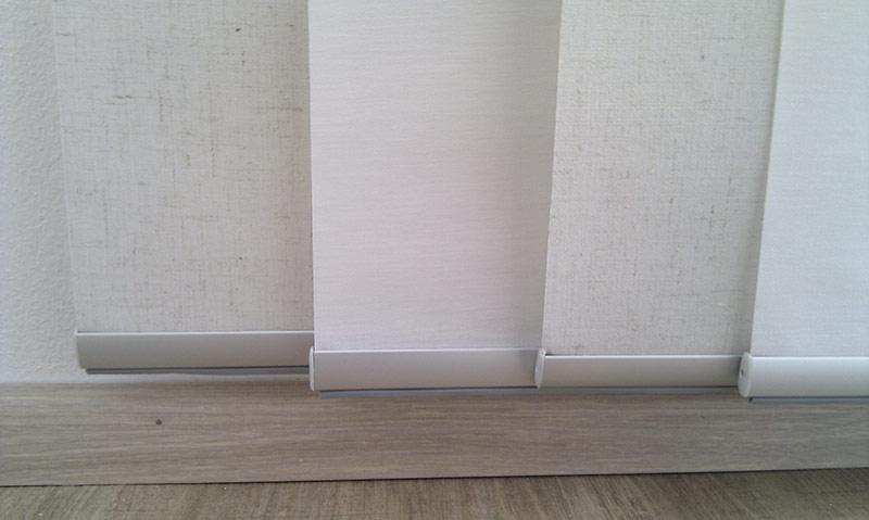Posuvné (japonské) stěny - detail uchycení 2