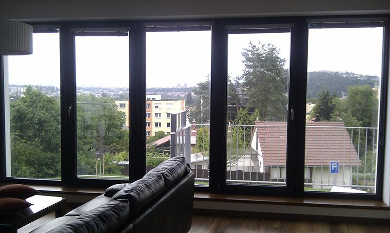 NC 35 XT pohled z interiéru