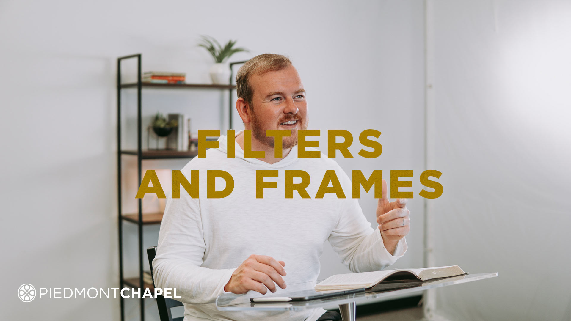 Filters and Frames