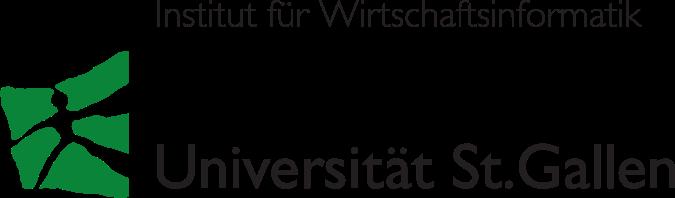 Logo des Institut für Wirtschaftsinformatik (IWI-HSG) an der Universität St. Gallen