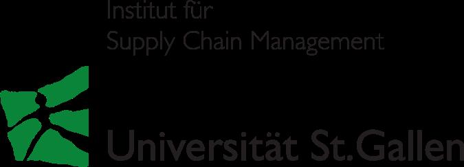 Logo des Institut für Supply Chain Management (ISCM-HSG) an der Universität St. Gallen