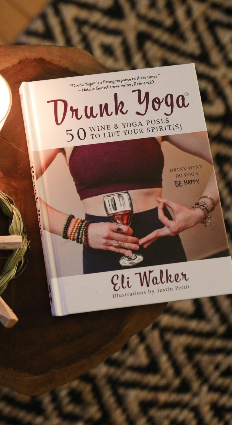Drunk Yoga book