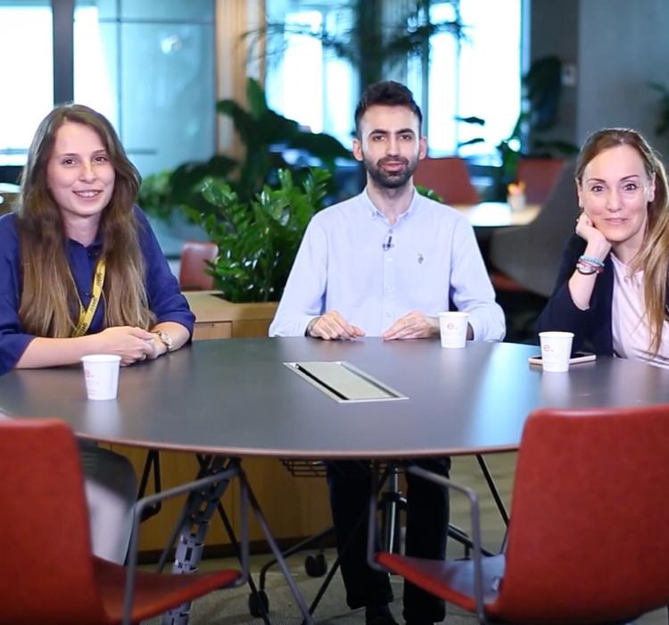 getir employees in interview