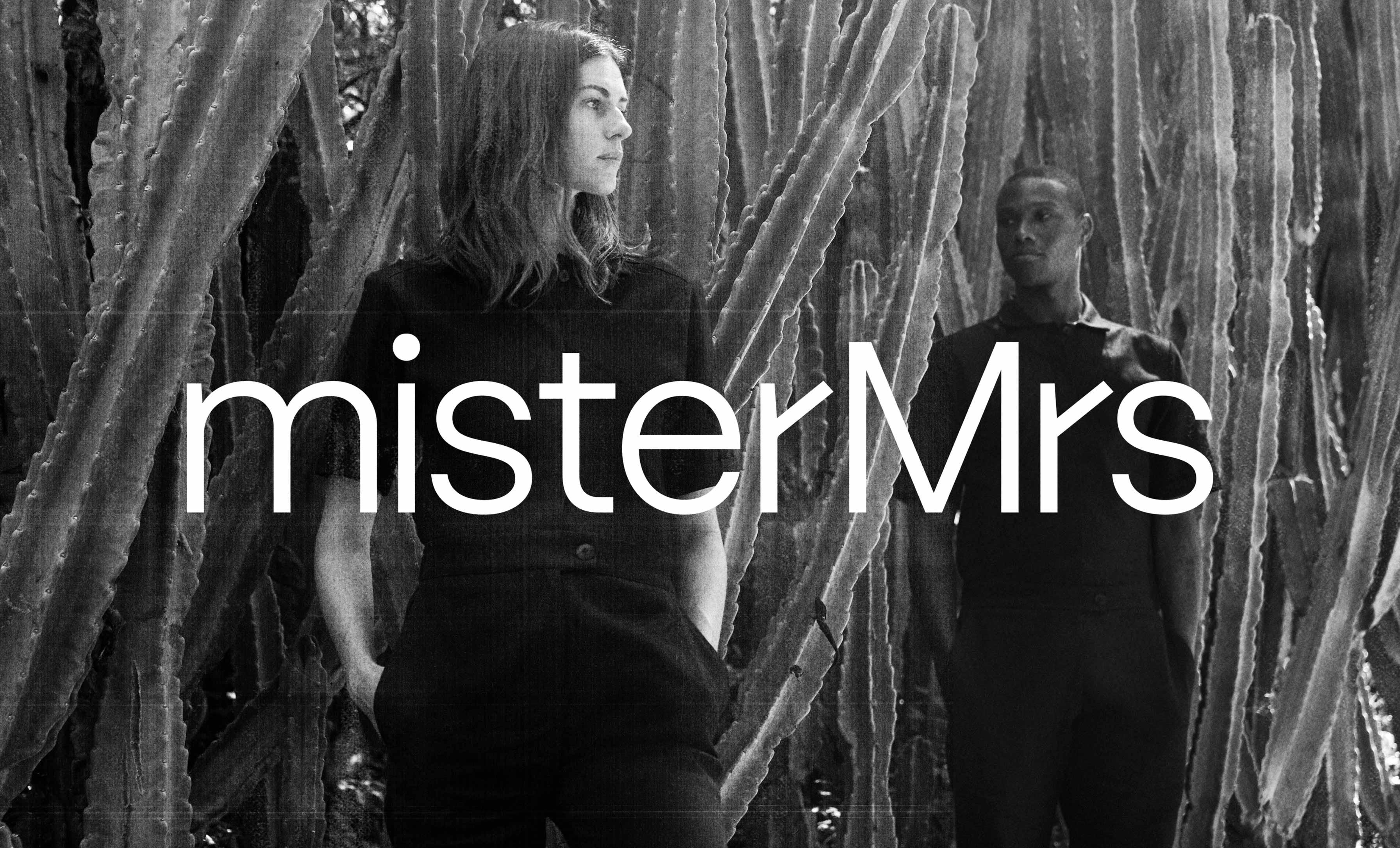 misterMrs - Hero Image, Logo