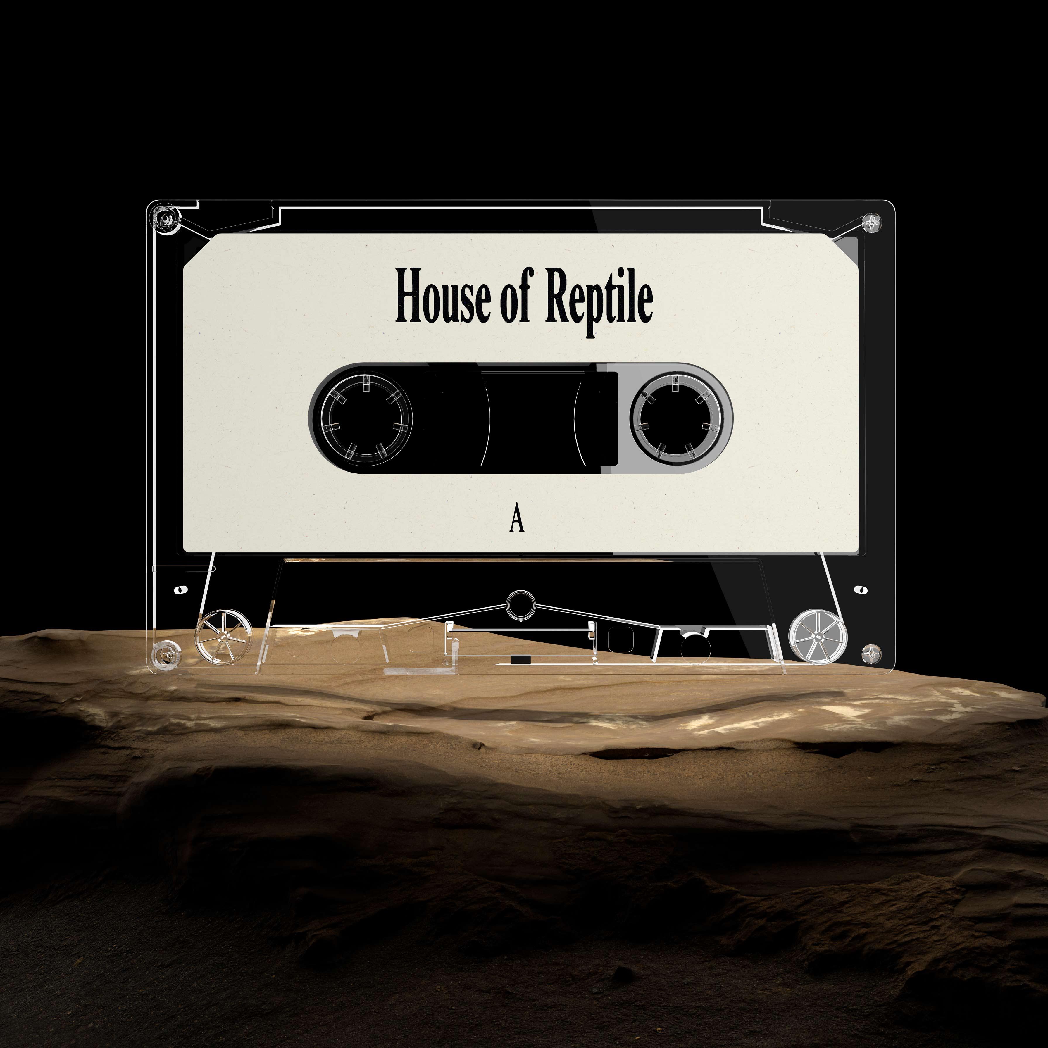 House of Reptile - Cassette Tape