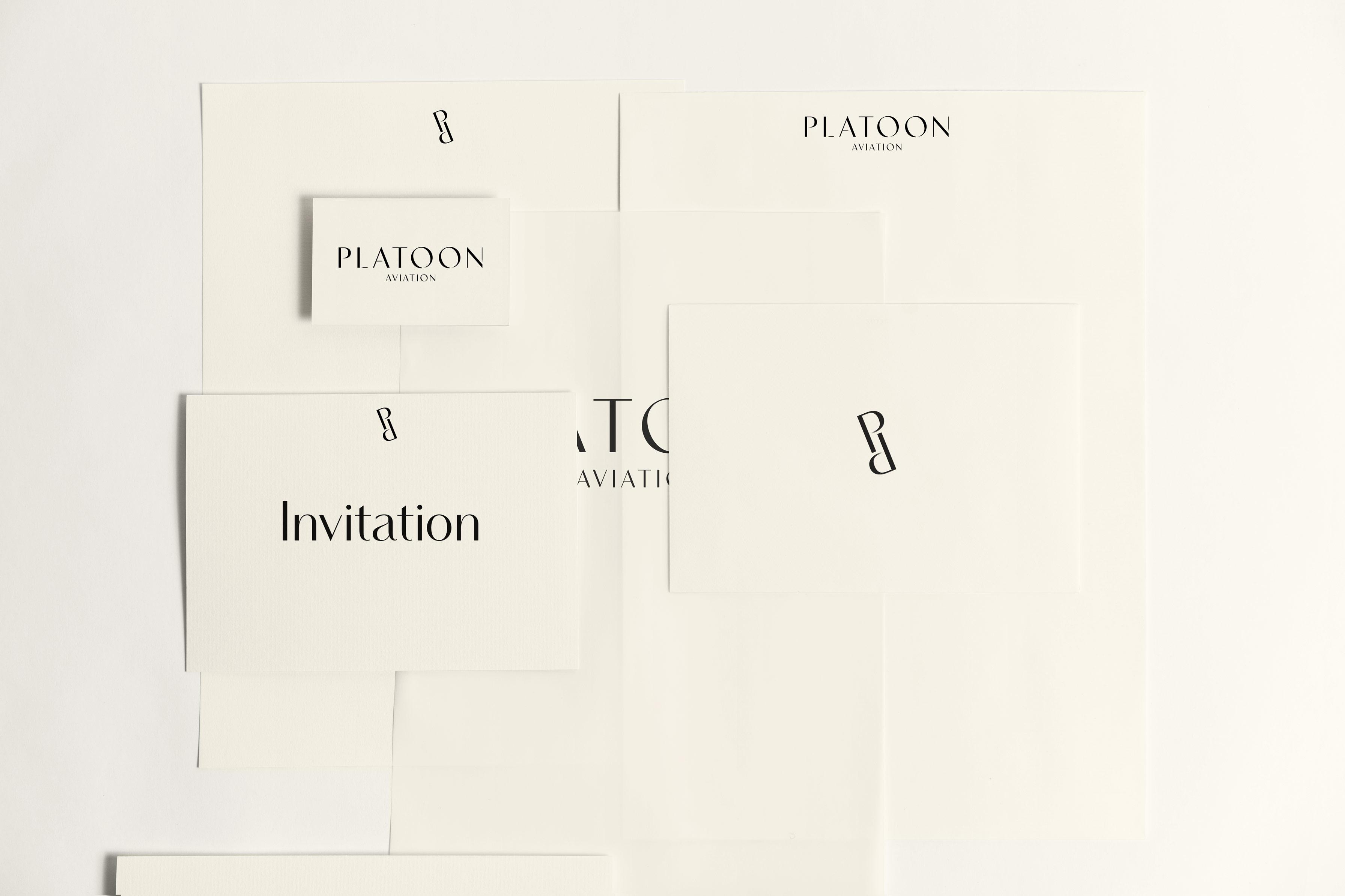 Platoon - Brand Stationery