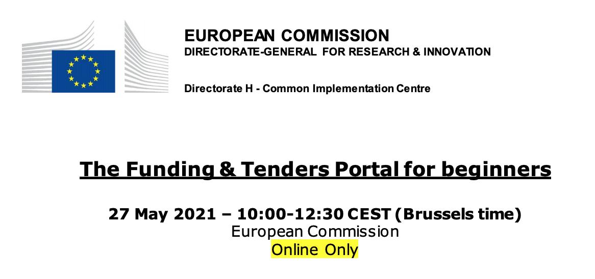 Uue taotluskeskkonna Funding & Tenders Portal tutvustus (inglise keeles)