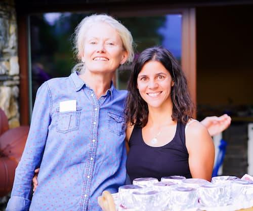 Christina mit Marie Spiesmaier