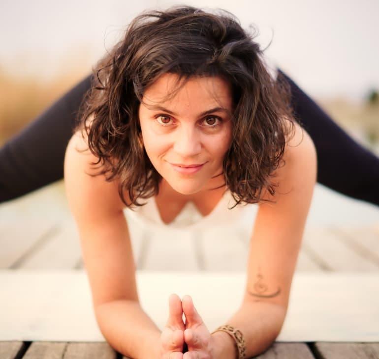 Christina Yogaübung