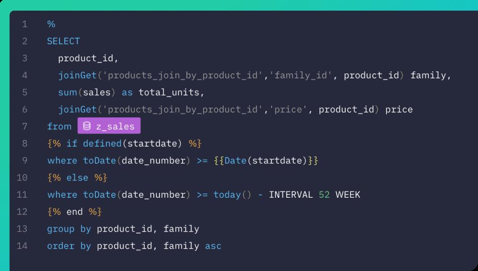 SQL based