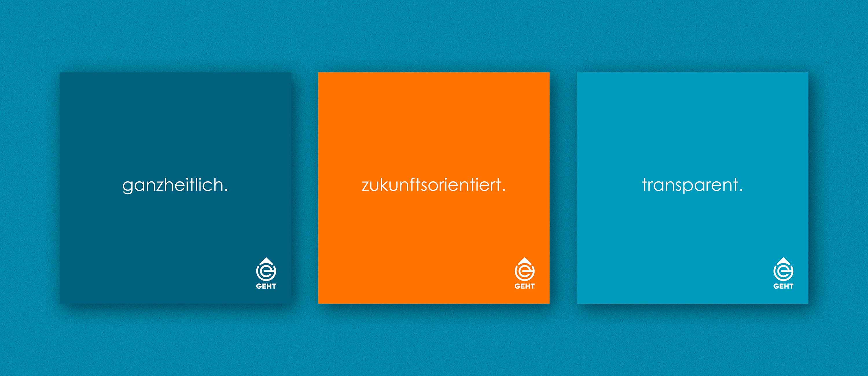 kreativbox - Branding, Markenwerte - GEHT GmbH