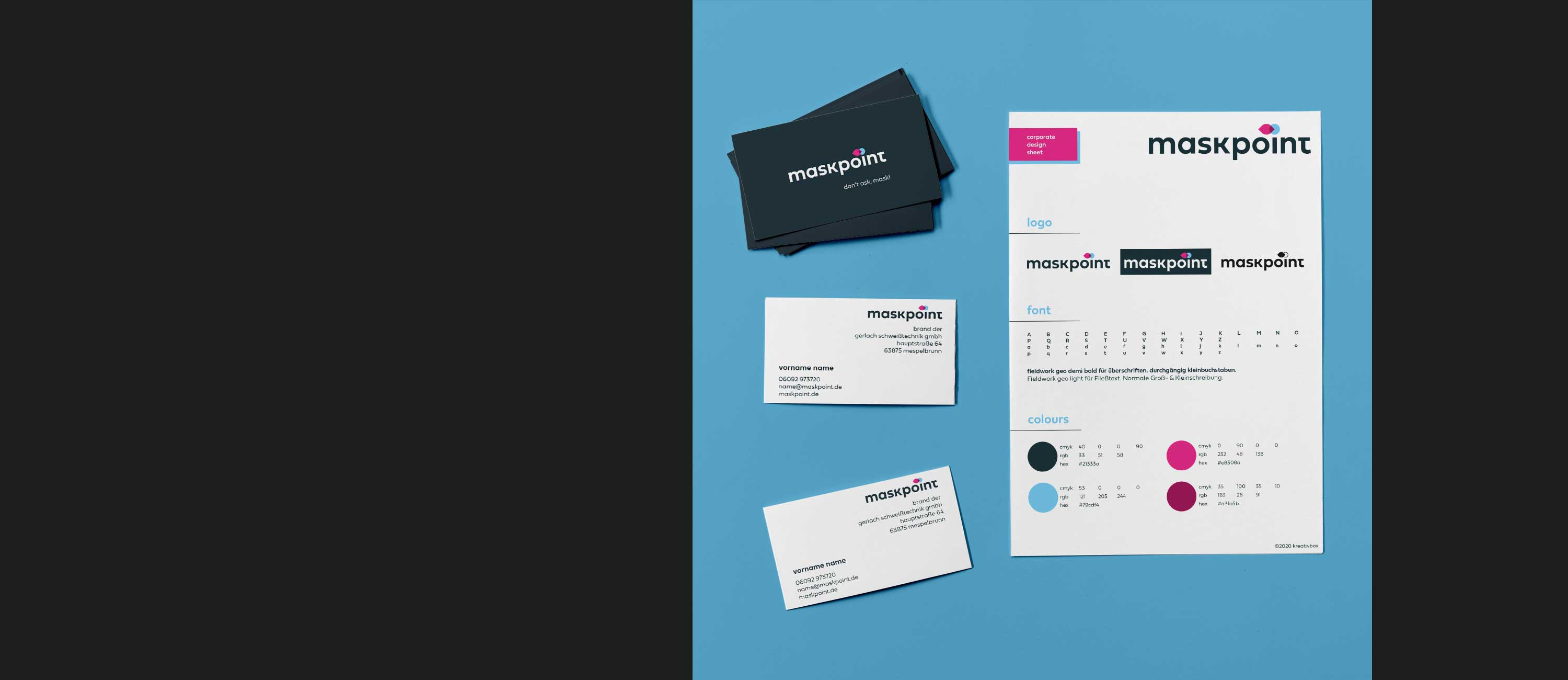 kreativbox - Corporate Design - maskpoint