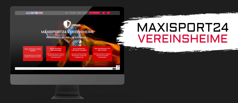 kreativbox - Webdesign - Vereinsheime - MAXISPORT24
