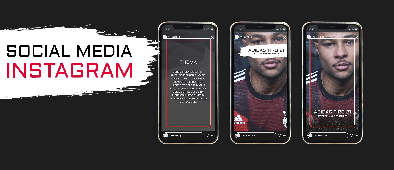 kreativbox - Social Media - Social Media Templates - MAXISPORT24
