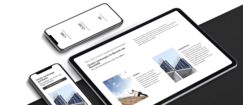 kreativbox - Marketingagentur Elsenfeld - Responsive Webdesign - Ingenieurbüro Nebel Mespelbrunn