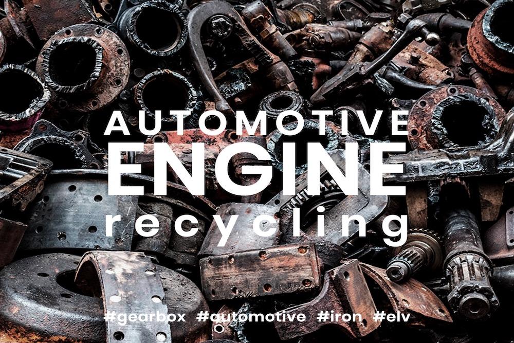 Riciclagem motores e caixas de transmissão de veículos