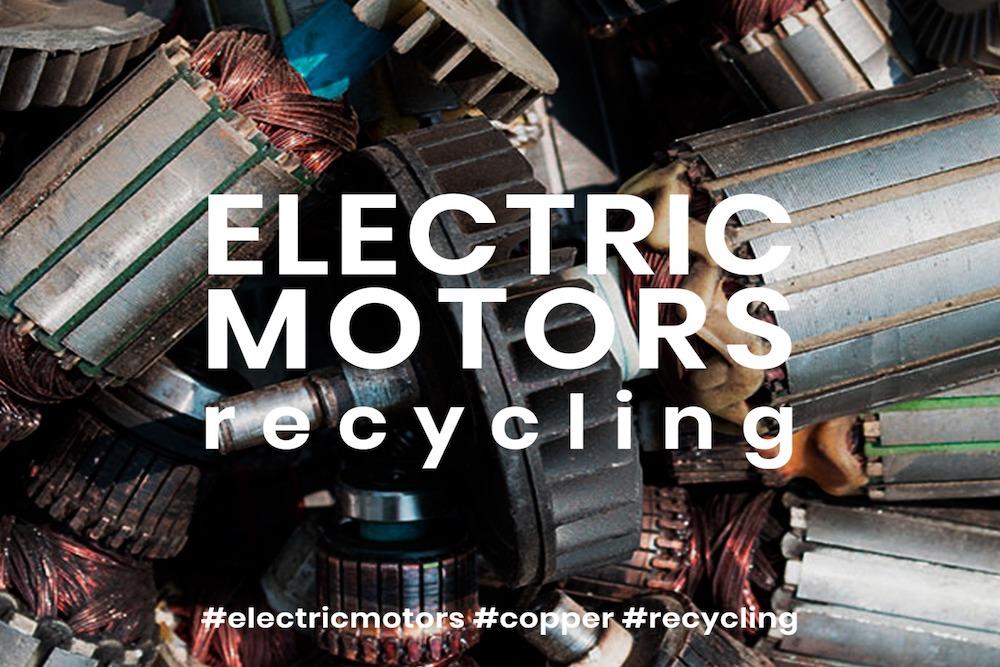 Reciclagem motores elétricos
