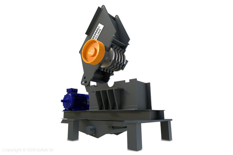 Moinho de martelo, Reciclagem de metais HM