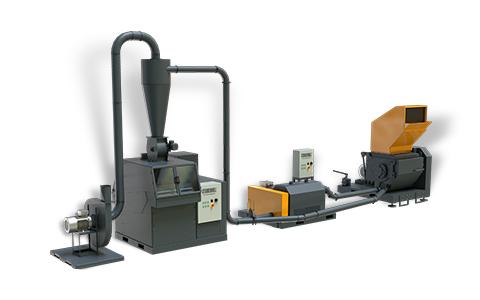 Granulador reciclagem de cobre M