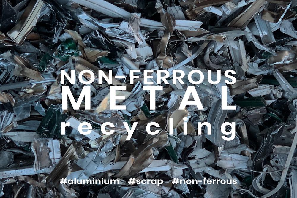 Fragmentação alumínio não ferroso