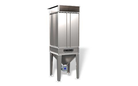 Sistemas industriais de filtração para despulverizar SMF
