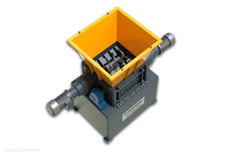 Triturador Resíduos sólidos urbanos (RSU) LC