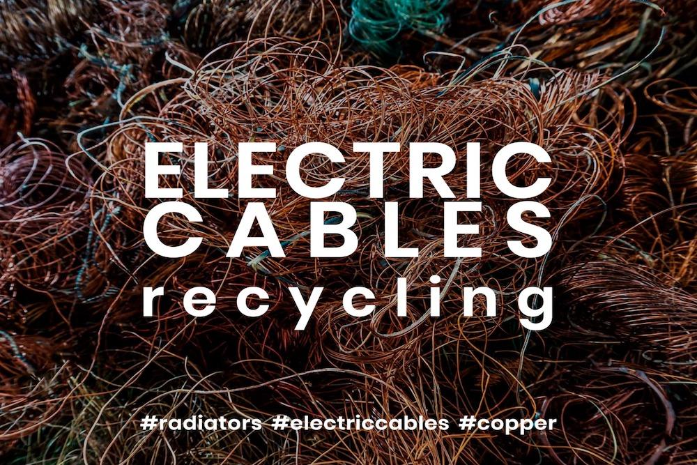 Granulação cabos elétricos