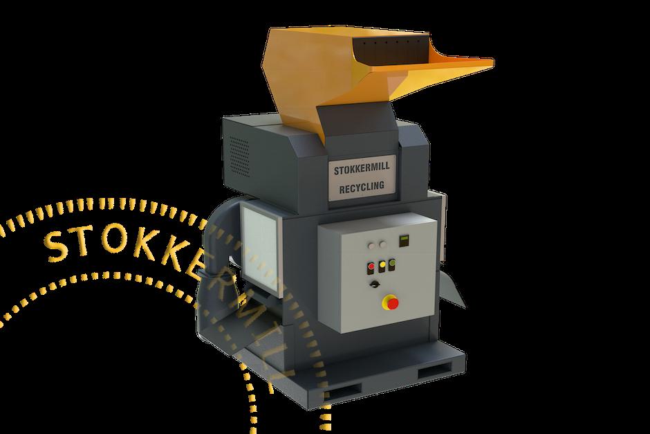 triturador de lixo eletrônico
