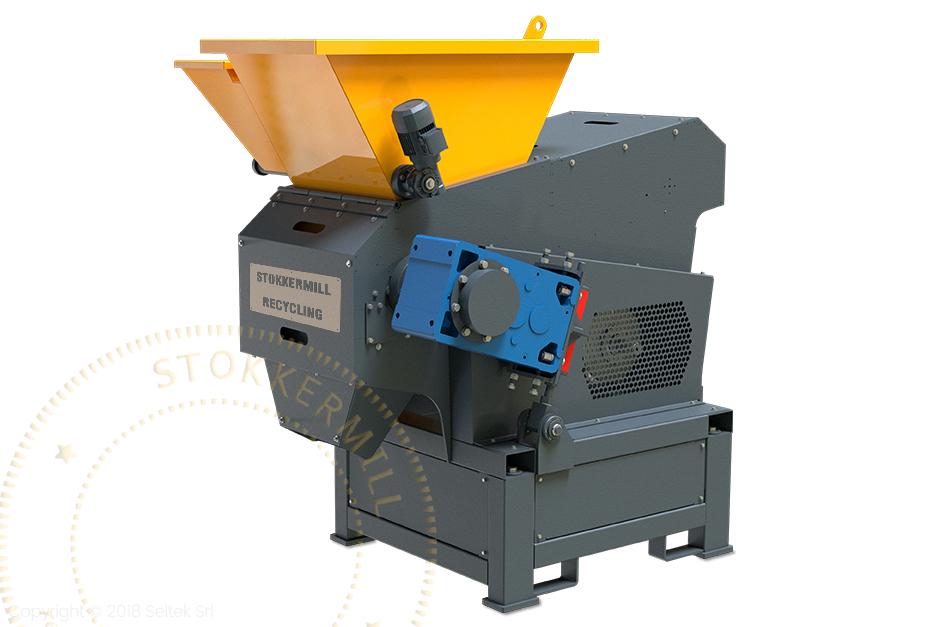trituradores de sucata ferrosa e metal