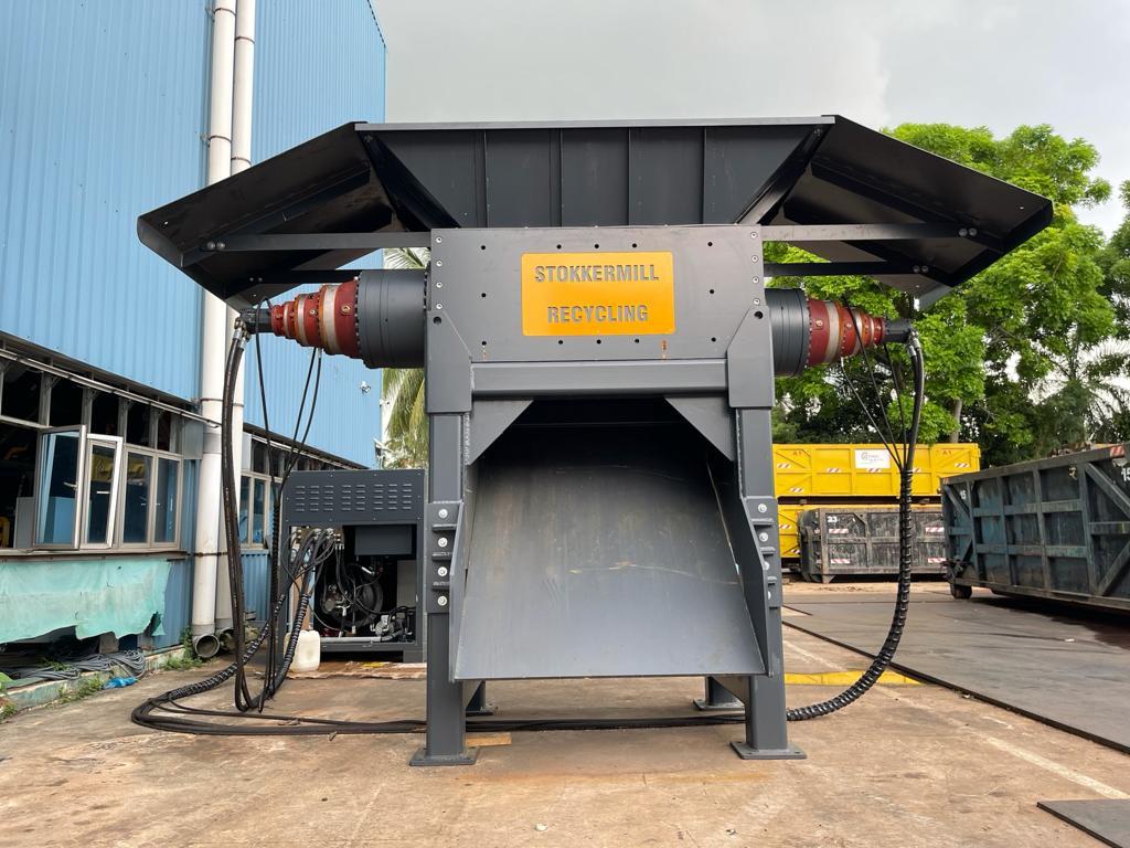 Triturador sucata residuos ferrosos D