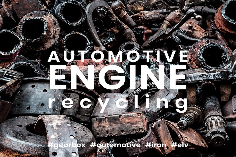 Motoros aprítóberendezés a járművek bontásából származó motoranyagok felhasználására az aprítási folyamat során, hogy megfelelő méretű, homogén anyagokat nyerjenek