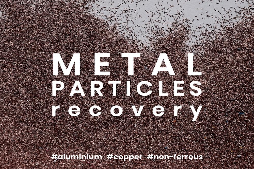 Réz visszanyerése műanyagból fémrészecskék, réz és alumínium visszanyerését lehetővé tevő rendszerek