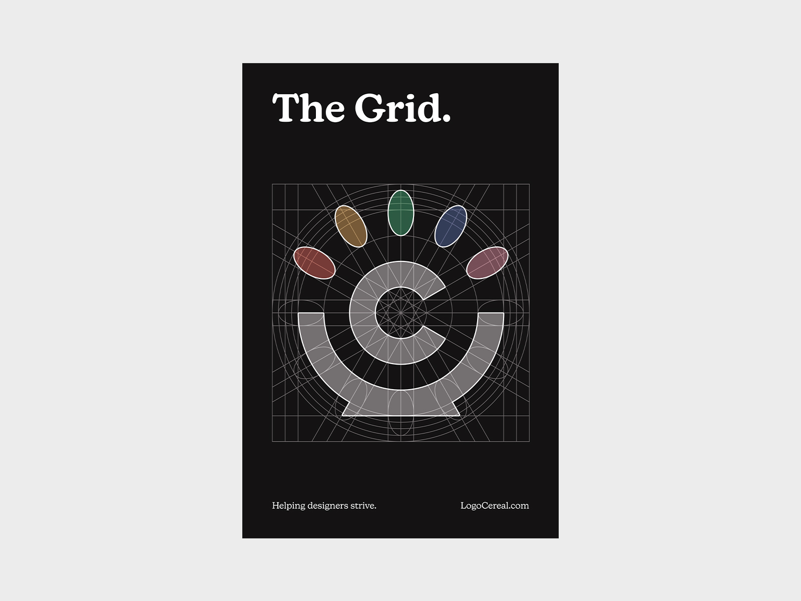 The Grid Poster (Black)