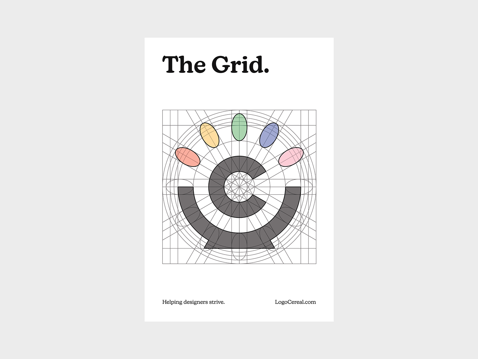 The Grid Poster (White)