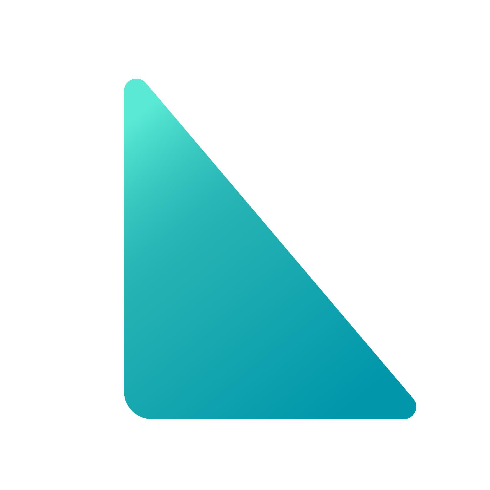 Mozaik-Dreieck-blau-4