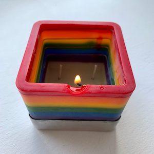 Spiral Melt Candle