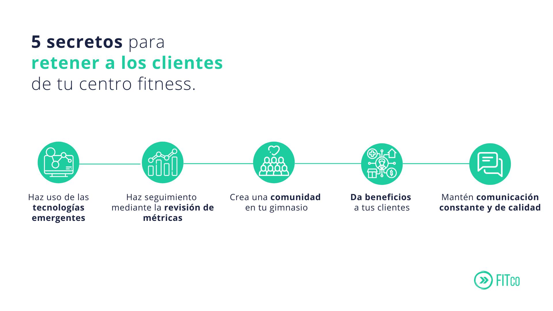 5 secretos para retener a los clientes de tu centro fitness